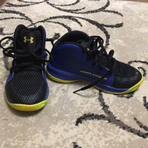 Under Armor boys shoes